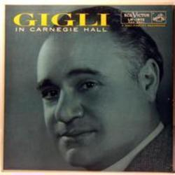 Best and new Beniamino Gigli Opera songs listen online.